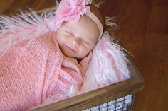 SET Frosted Light Pink Mongolian Faux Fur and Pink Newborn Stretch Kni | Beautiful Photo Props