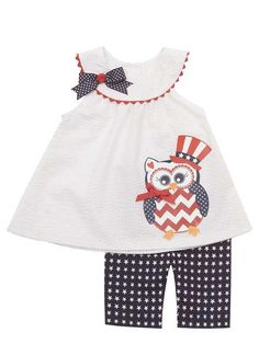 Rare Editions Patriotic Outfit
