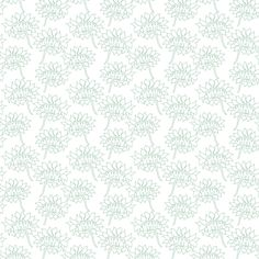 Dalia_Green_Outline fabric by maredesigns on Spoonflower - custom fabric