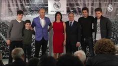 Sergio Ramos Florentino Pérez anunciando a Zidane como entrenador del Real Madrid