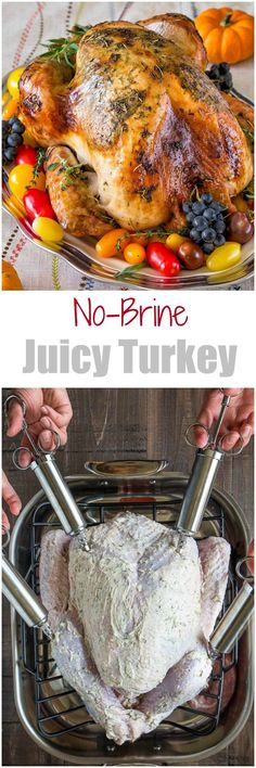 Sharing my secret to super juicy no brine roast turkey recipe that will make you a hero of your Thanksgiving dinner. It involves a bottle of champagne and melted butter! Seriously, unless you want to, you really don't have to brine your bird! ♛BOUTIQUE CHIC♛