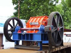ECOMAN - Manufacturer, Exporter, Supplier of Single Roll Crusher from Gujarat, India. We offer best quality Roll Crusher at a reasonable price. Rolls, Suit, Organization, Getting Organized, Organisation, Buns, Bread Rolls, Suits, Formal Suits