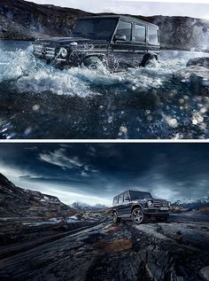 No mountain too high, no valley too low: The Mercedes-Benz G-Class masters it all.