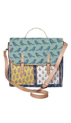 Block Print Satchel - Not totally sure what I think about this yet