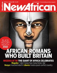 New African October 2010 Edition. This is very interesting reading and see how Britain progressed afterward ; Black History Books, Black History Facts, Black Books, Black History Month, Ancient Aliens, Ancient History, Ohio, Berber, African Diaspora