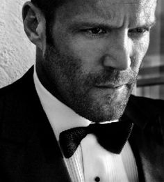 Jason Statham, I love your facial hair
