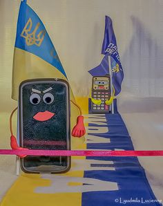 Near the finishing tape... Торкаючись фінішної стрічки ...       #originalcontent #photosmile #humor #Ukraine #Maidan #Europe #smartphone #calculator #LyudmilaLucienne #funny