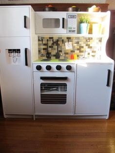 ... play kitchen makeover - the after | by loopylocks