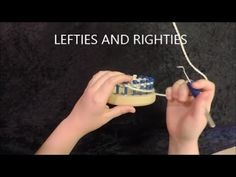 Intro to Looming: Purling for Lefties and Righties - YouTube