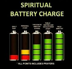 We need to charge up regularly