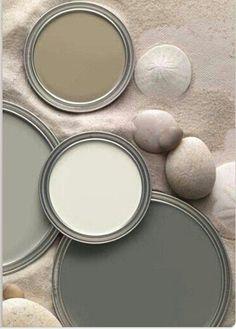 couleur blanc, beige et gris, idee peinture salon, couleur de peinture pour chambre en beige et gris