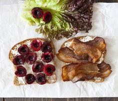BLC Sandwich (Bacon, Lettuce & Cherries)