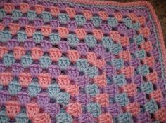 Crochet Baby Blanket or Lap Blanket / by CallahansCrafts on Etsy