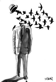 When thought realizes that it cannot possibly do anything about fear because it creates fear, then there is silence; then there is complete negation of any movement which breeds fear. -J.Krishnamurti,The Flight of the Eagle, p 71(Loui Jover)