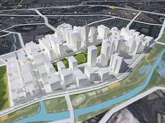 Wadala Commercial Center Master Plan ( Mumbai, India) Johnson Fain
