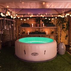 Lay z spa inflatable hot tub setup advice outdoor garden for The range lazy spa
