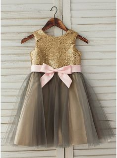 Girls Fancy Dresses, Flower Girl Dresses, Satin Tulle, Wedding Party Dresses, Special Occasion Dresses, Scoop Neck, Fashion Dresses, Sequins, Lace
