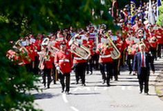 Linlithgow Marches .. Held on the first Tuesday after the second Thursday in June !