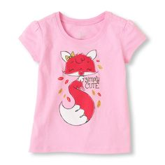 A sweet tee fit for a little fox!
