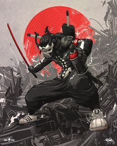 Top 10 Tips To Grow Your Japanese, Animation Does Quotes, Marvel Sometimes Make You Feel Stupid? Your Animation Is (Are) About To Stop Being Relevant Character Concept, Character Art, Concept Art, I Phone 7 Wallpaper, Animation, Samourai Tattoo, Cyberpunk Kunst, Ronin Samurai, Samurai Warrior