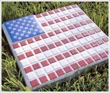 Flag Stepping Stone
