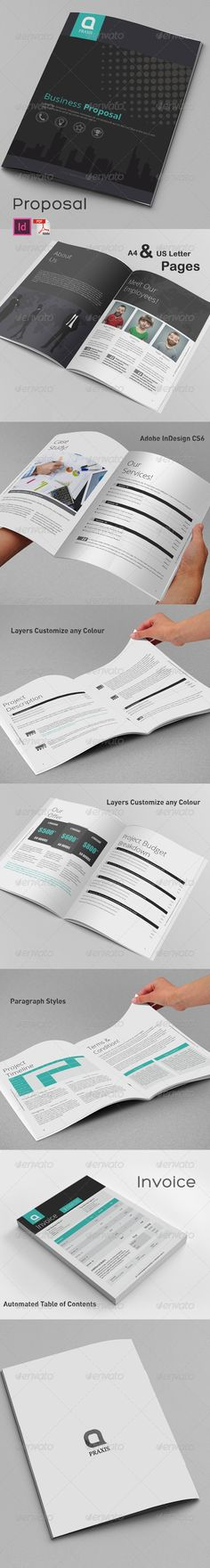 Clean Business Proposal Template Download, Template and Included - business proposal template download