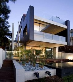 architects home on narrow beach lot - Google Search