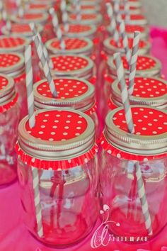 I love this, but I would also use it for an outdoor party to keep the bugs out of drinks  Liners as Glassware  Use cupcake liners as an extra, pretty accent for your party drinking glasses. --Karas Party Ideas--.