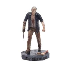 Merle Dixon was never an easy man to get along with in life, and reanimating as an undead Walker hasn't improved his personality any. This intricately detailed