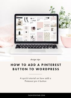 How to add a Pinterest Pin It Button to WordPress