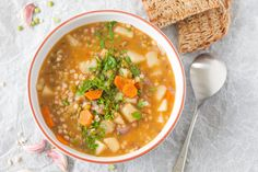 When it comes to favourite dishes this hearty Barley and Lentil soup is adelicious and nutritiouswinter staple in our household.
