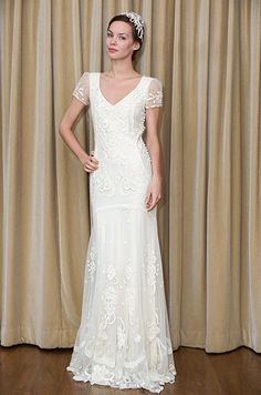 #projectdressme   I love this dress if I were having a small private ceremony. Temperley London vintage-inspired wedding dress, 2012