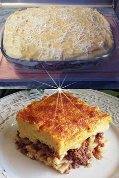 Cookbook Recipes, Cooking Recipes, Greek Recipes, Lasagna, Food And Drink, Pasta, Meals, Baking, Ethnic Recipes