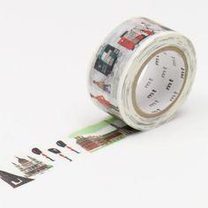 MT Miroslav Sasek This is London Washi Tape