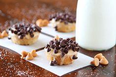 Chocolate Peanut Butter Banana Bread Mini Donuts