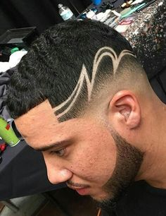 Hairstyles Haircuts, Haircuts For Men, Trendy Hairstyles, Hair And Beard Styles, Curly Hair Styles, Natural Hair Styles, Hair Designs For Boys, Hair Tattoo Designs, Shaved Hair Designs