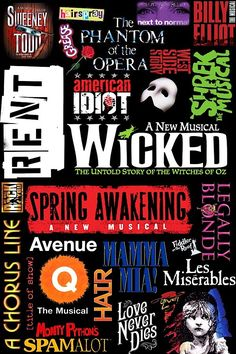I want to go to N.Y and see a musical! I have been to Memphis and Nashville and they were great, but that would be the ultimate!!