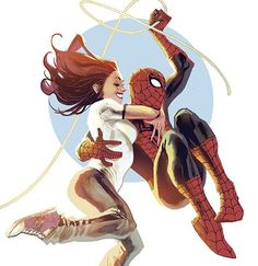 Spider-Man and Mary Jane by Rafael Albuquerque #spiderman #maryjane