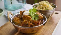 Cape Malay Fish Curry with Bulgur – Good Chef Bad Chef - Bulgur Salad