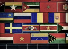 flags of united nations countries