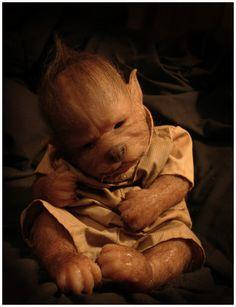 custom werewolf baby by WerePups.deviantart.com on @DeviantArt