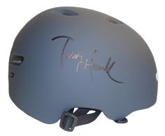Tony Hawk Autographed Bell Skateboard Helmet, Proof Photo. This is a brand-new Tony Hawk signed Bell Huckjam series skateboard helmet. Tony signed the grey helmet in black sharpie. Check out the photo of Tony signing for us. ** Proof photo is included for free with purchase. Please click on images to enlarge. Please browse our websitefor additional X-Games, Extreme Sports & sports autographed collectibles. 1  Notable Career Work:   9-Time X-Games Gold Medalist   First Skateboarder to…