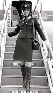 vintage Air France by Balenciaga