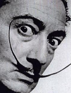 """mustache mustache mustache   Salvador Dali  """"I don't do drugs, I am drugs"""""""