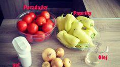 Výborné zavárané lečo Vegetables, Food, Youtube, Veggies, Vegetable Recipes, Meals, Yemek, Youtubers, Eten