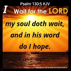 Bible Verse Canvas, Scripture Verses, Psalm 130, Psalms, King James Bible, Encouragement, Words, Bible Verses, Bible Scripture Quotes