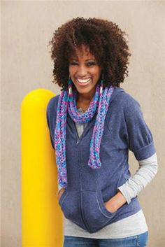 Colorful Corded Scarf