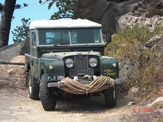 LandRover Series 1.. Give them enough rope and they will .............. pull you out !