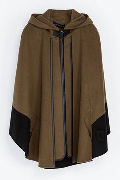 Caped Crusader: 7 Must-Have Capes. Zara cape, $189