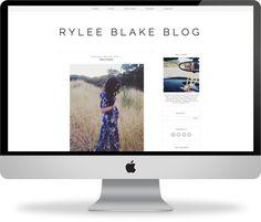 premade blogger template